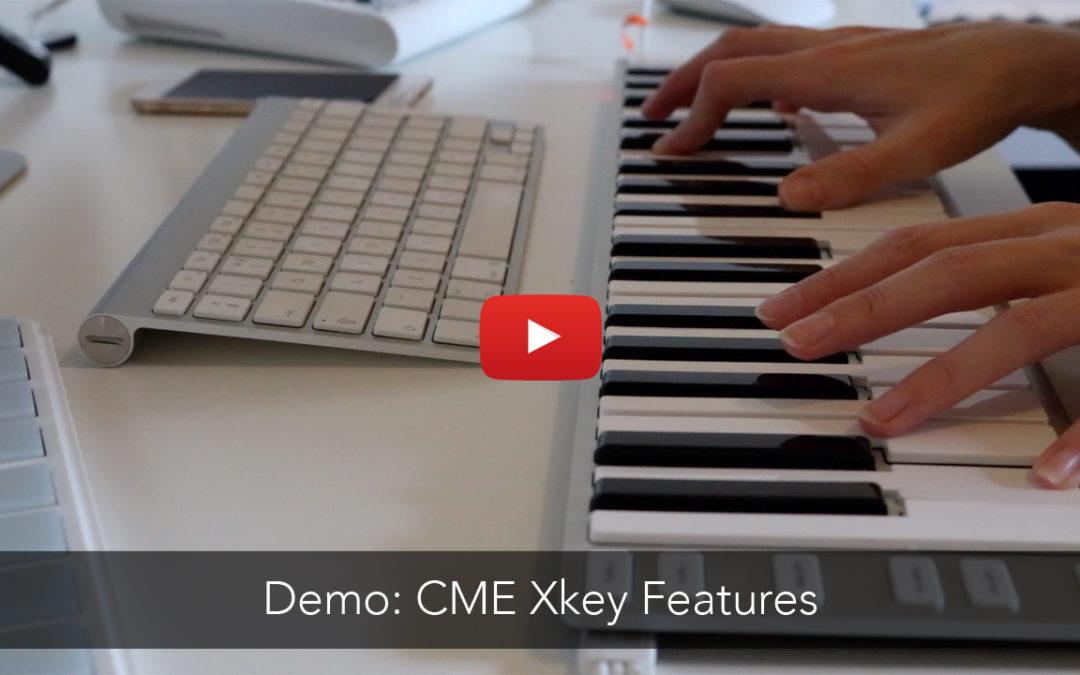 CME Xkey Controller Keyboard